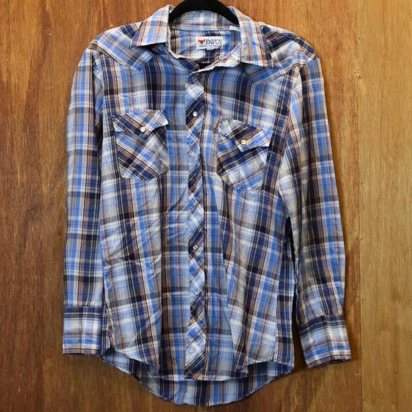 62ed55e45 Envoy Shirts | Vintage Plaid Shirt Medium | Poshmark